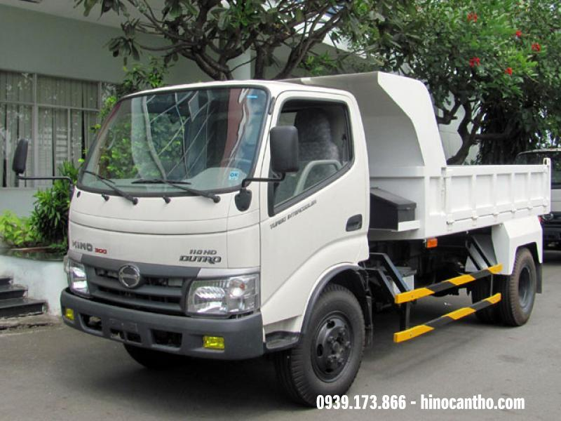 Xe ben Hino 3.5 tấn WU342 110HD