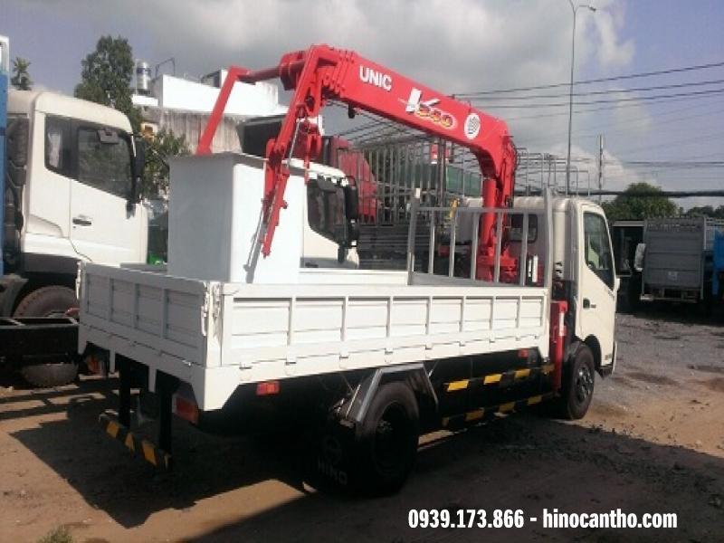 Xe Cẩu Hino 8 tấn