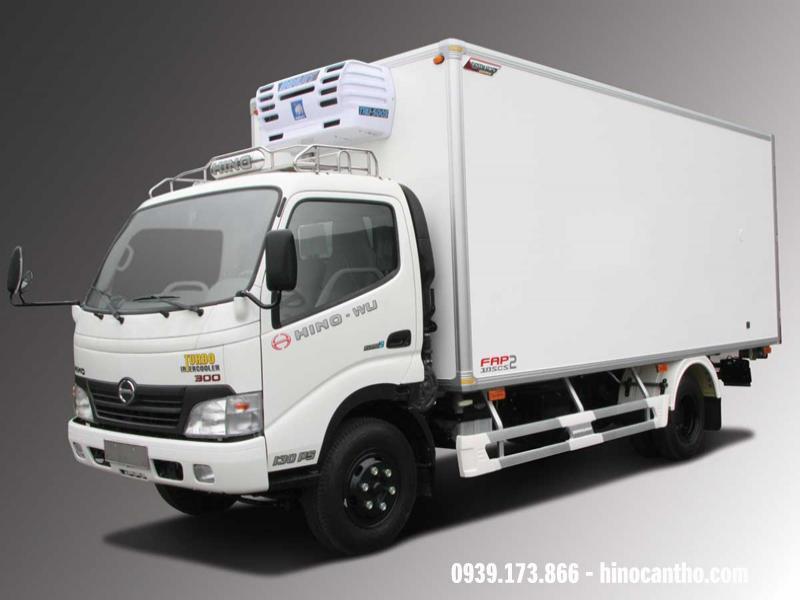 Xe Hino thùng đông lạnh 1T9 (XZU650)
