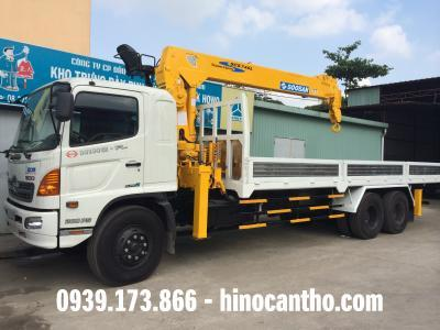 Xe cẩu Hino 16 tấn